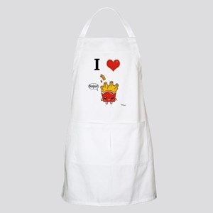 I (Heart) French Fries! BBQ Apron