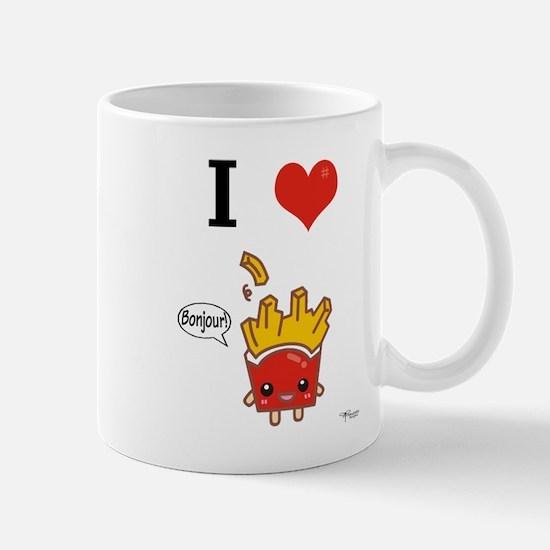 I (Heart) French Fries! Mug