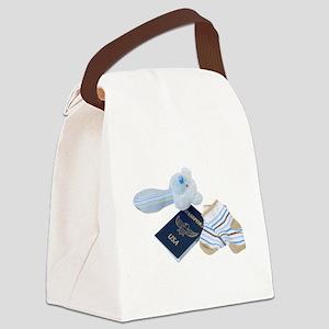 BabyTravels041410 Canvas Lunch Bag