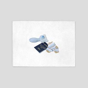 BabyTravels041410 5'x7'Area Rug