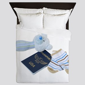 BabyTravels041410 Queen Duvet