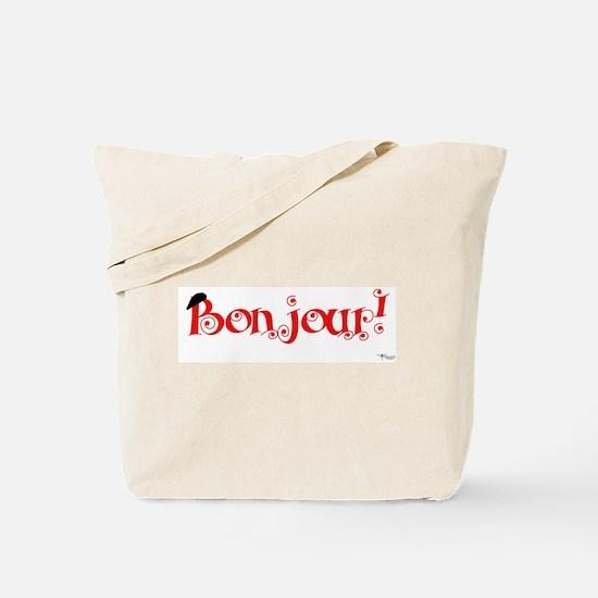 Bonjour! Tote Bag