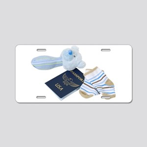 BabyTravels041410 Aluminum License Plate