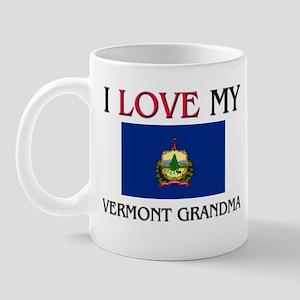 I Love My Vermont Grandma Mug