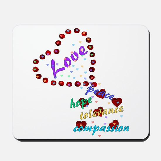Seeds of Love Mousepad