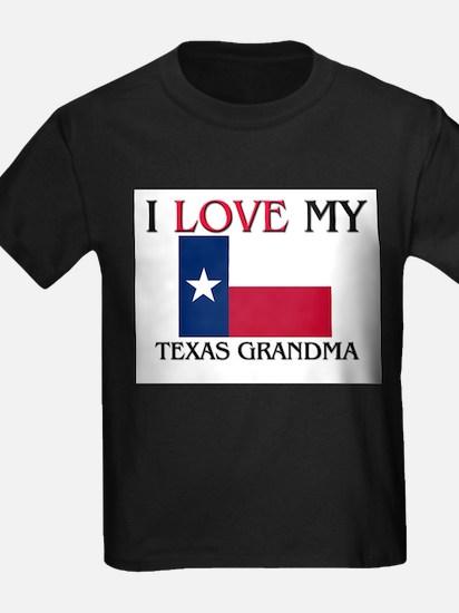I Love My Texas Grandma T