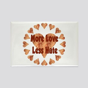 Love Each Other More Rectangle Magnet