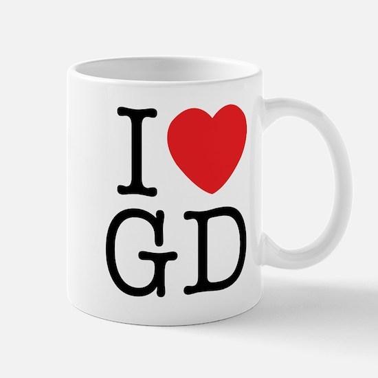 I Love Graphic Design Mug
