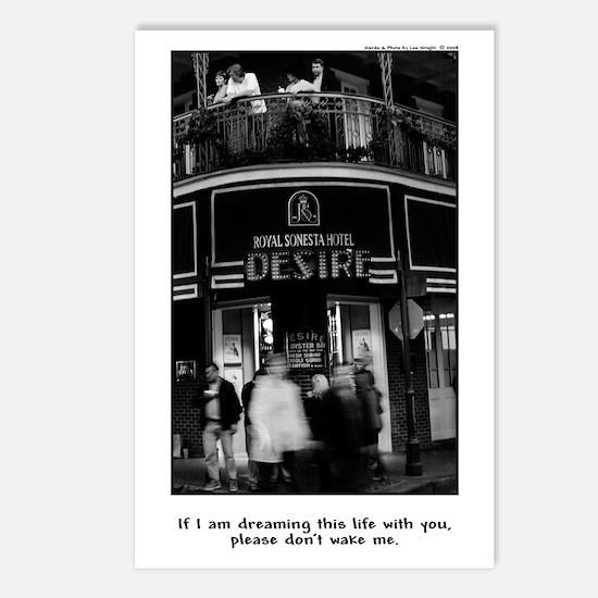 Unique Dream street Postcards (Package of 8)