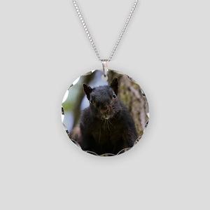 Black squirrel Necklace