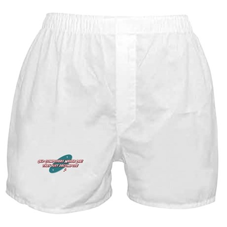 Old Composers Never Die Boxer Shorts