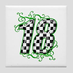 RaceFashion.com Tile Coaster