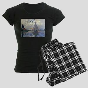 Claude Monet Sailboat Pajamas