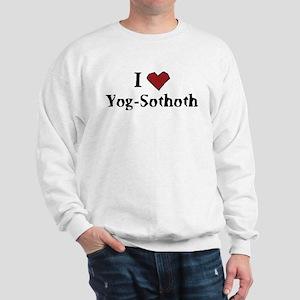I heart Yog-Sothoth Sweatshirt
