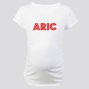 Retro Aric (Red) Maternity T-Shirt