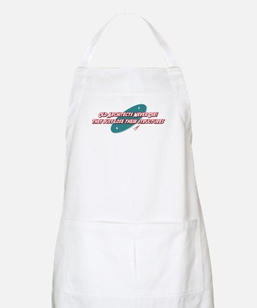 Old Architects Never Die BBQ Apron