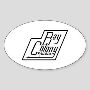 Bay Colony railroad Sticker
