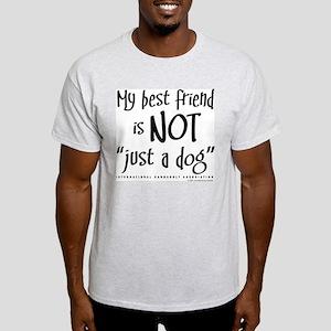 """Not """"just a cat"""" Ash Grey T-Shirt"""
