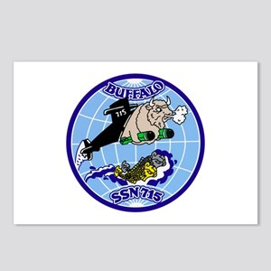 USS Buffalo SSN-715 Postcards (Package of 8)