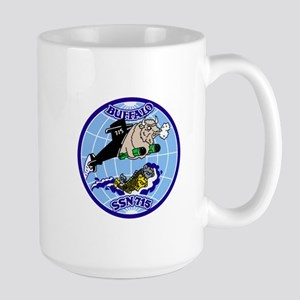 USS Buffalo SSN-715 Large Mug