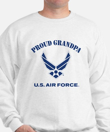 Proud US Air Force Grandpa Sweatshirt