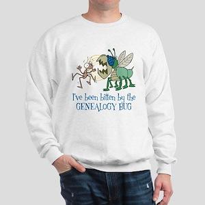 Bitten by Genealogy Bug Sweatshirt