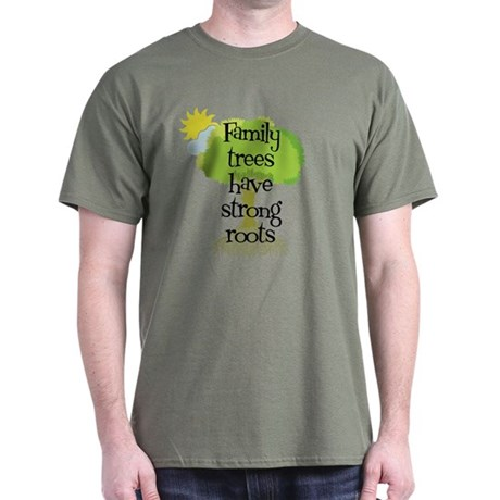 Trees Have Strong Roots Dark T-Shirt