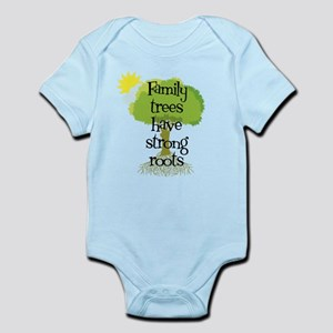 Trees Have Strong Roots Infant Bodysuit