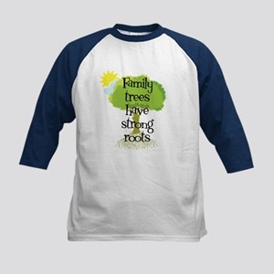 Trees Have Strong Roots Kids Baseball Jersey