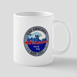 USS Chicago SSN-721 Mug