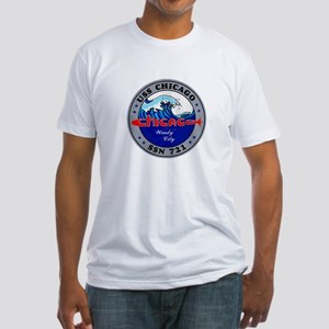 USS Chicago SSN-721 Fitted T-Shirt