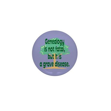 Genealogy Mini Button