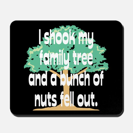Shook Family Tree Mousepad