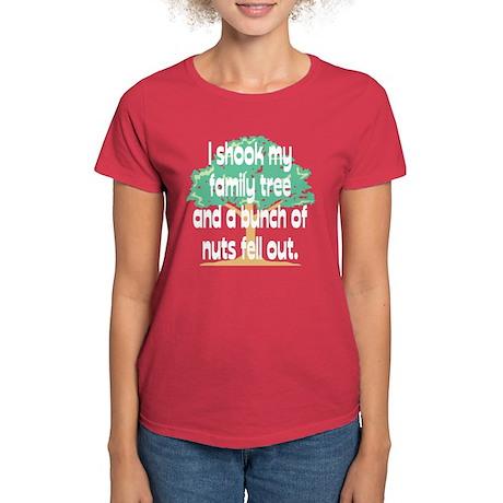 Shook Family Tree Women's Dark T-Shirt
