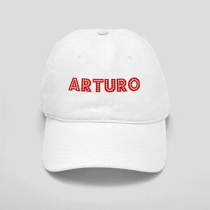 Retro Arturo (Red) Cap