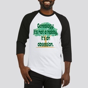 Genealogy Obsession Baseball Jersey