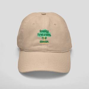 Genealogy Obsession Cap