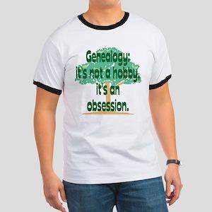 Genealogy Obsession Ringer T