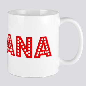 Retro Aryana (Red) Mug