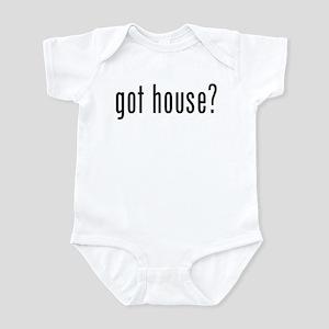 got house? Infant Bodysuit