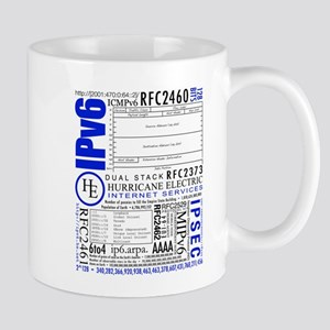 The Obviously Large IPv6 Mugs