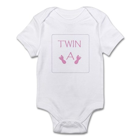 Baby Twins A Girl Infant Bodysuit
