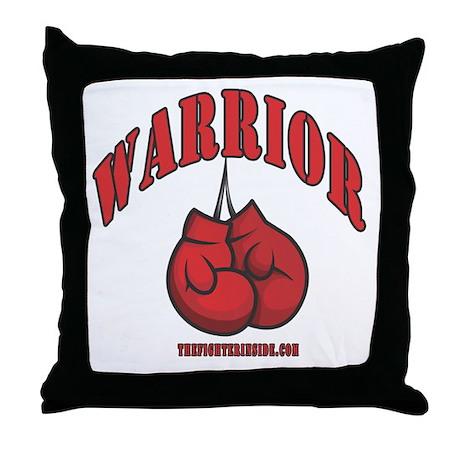 Warrior Throw Pillow