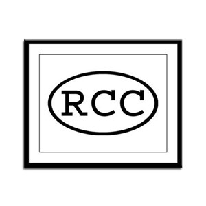 RCC Oval Framed Panel Print