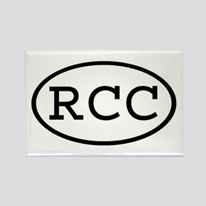 RCC Oval Rectangle Magnet