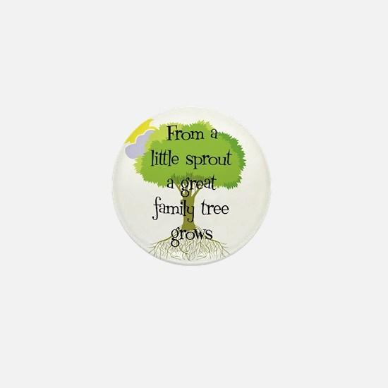 Little Sprout Mini Button