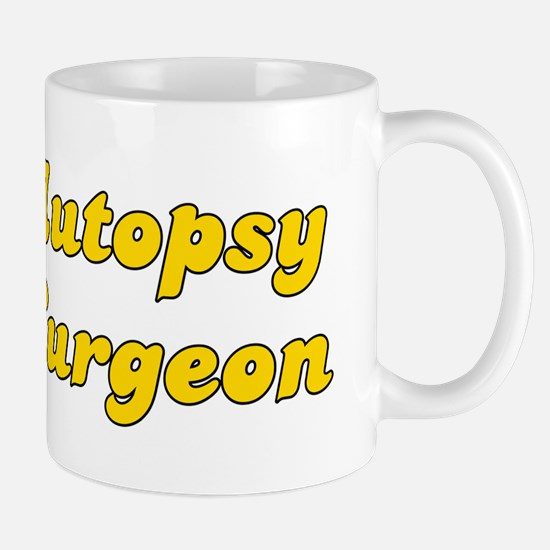 Retro Autopsy Sur.. (Gold) Mug