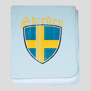 Norway Flag Designs baby blanket