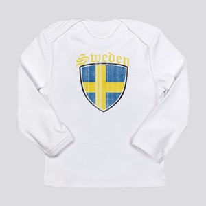 Norway Flag Designs Long Sleeve T-Shirt