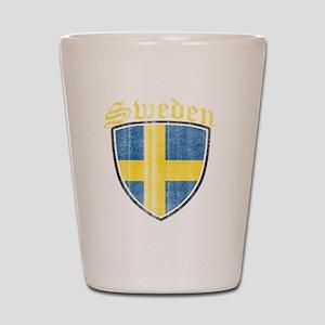 Norway Flag Designs Shot Glass
